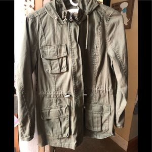 Women's Medium Olive Utility jacket